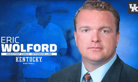 Kentucky offensive line coach Eric Wolford holds introductory press conference