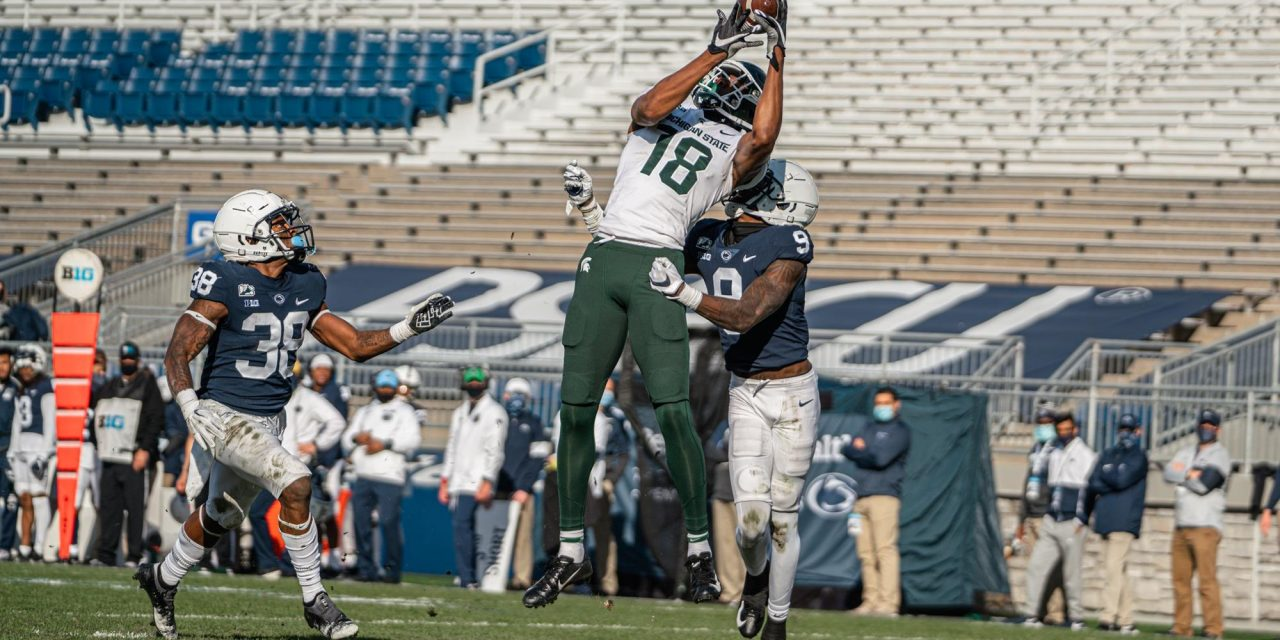 Former Michigan State wide receiver Tre'Von Morgan commits to Kentucky
