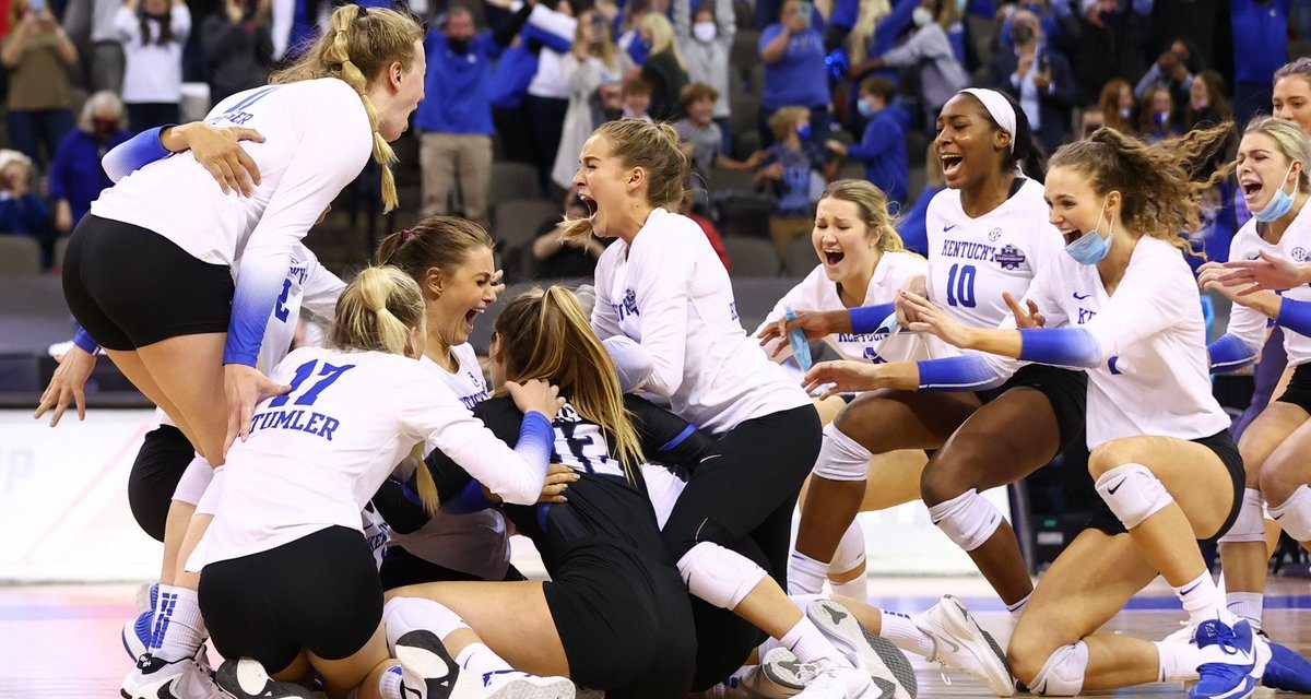 Kentucky Volleyball wins first National Championship in program history