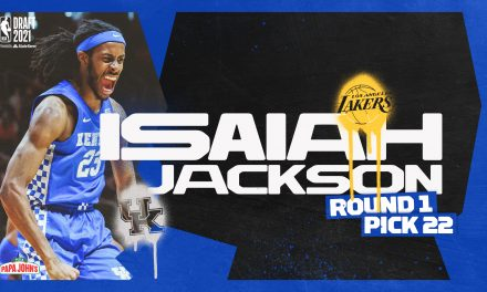 Isaiah Jackson selected by Lakers 22nd overall; traded to Pacers